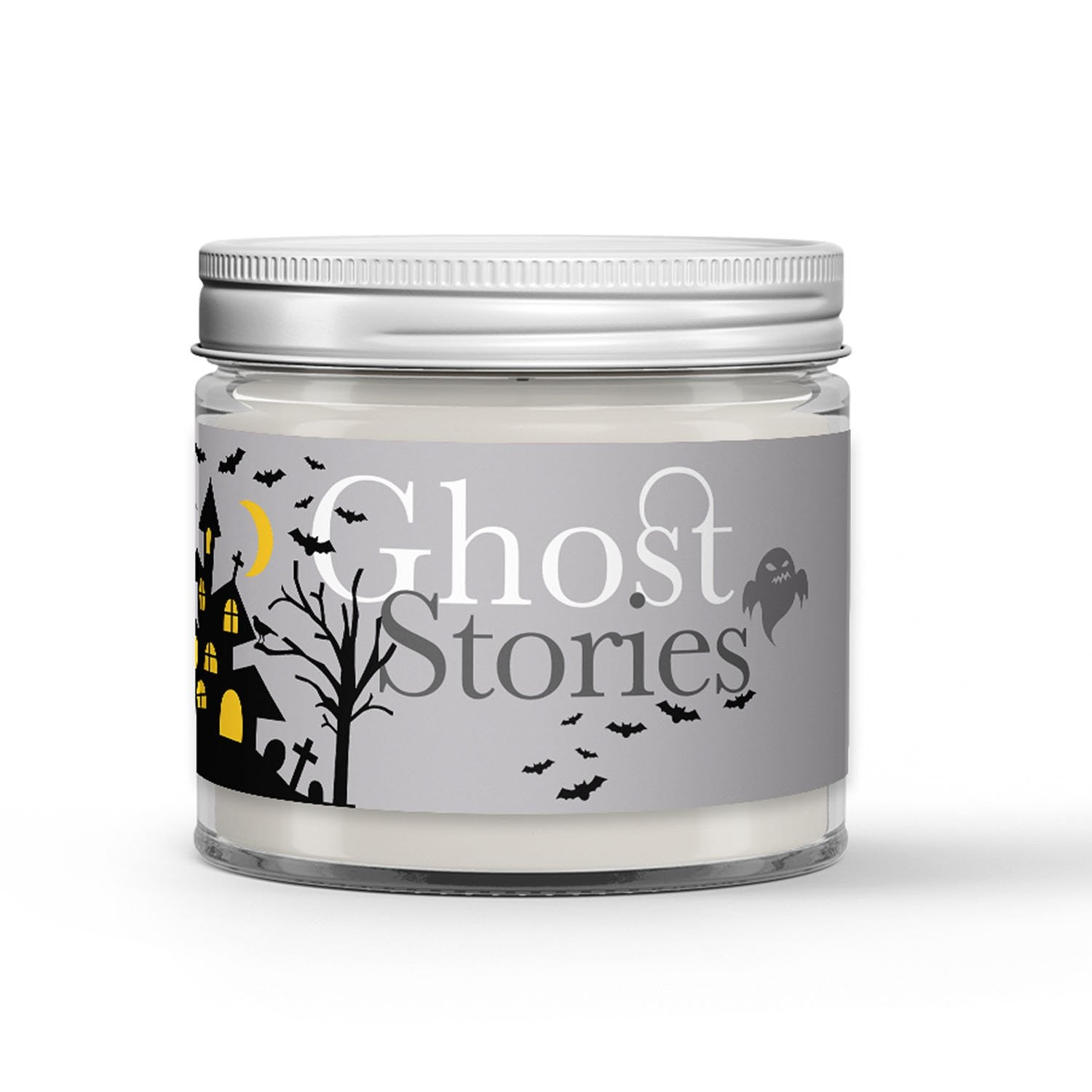 Ghost Stories Candle - Cedar Roasted Marshmallow - Fog - 1oz Adorable Size Candle® - Dio Candle Company