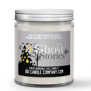 Ghost Stories Candle - Cedar Roasted Marshmallow - Fog - 8oz Super Adorable Size Candle® - Dio Candle Company