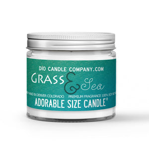 Grass and Sea Candle - Safari Grass - Endless Ocean - 1oz Adorable Size Candle® - Dio Candle Company