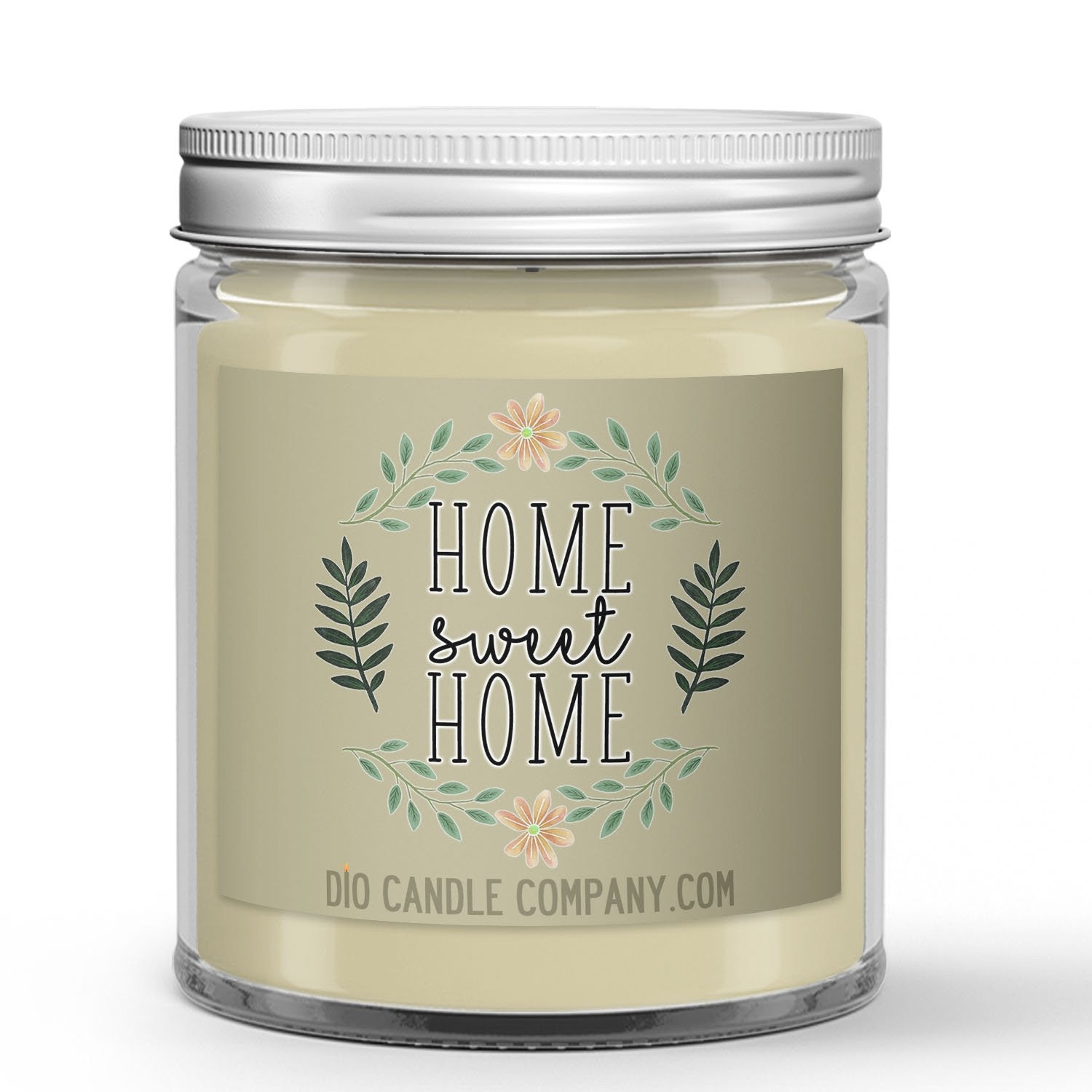 Home Sweet Home Candle - Blueberry Pie - Cotton - 8oz Super Adorable Size Candle® - Dio Candle Company