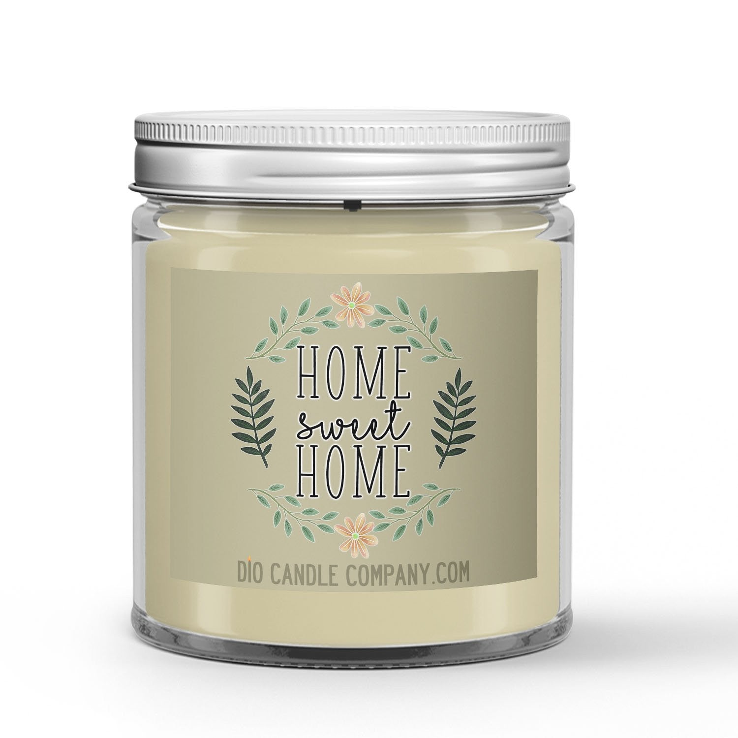 Home Sweet Home Candle - Blueberry Pie - Cotton - 4oz Very Adorable Size Candle® - Dio Candle Company