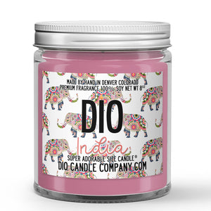 India Candle Pomegranate Scented - Dio Candle Company