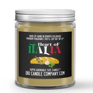 Bread - Oregano - Olive Oil Scented - Italy Candle - 8 oz - Dio Candle Company