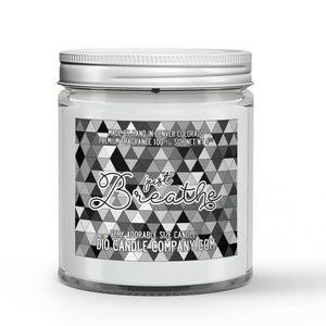 Just Breathe Candle White Tea - Eucalyptus Scented - Dio Candle Company