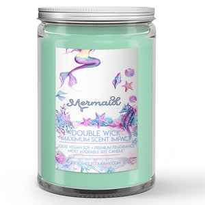 Mermaid Candles and Wax Melts