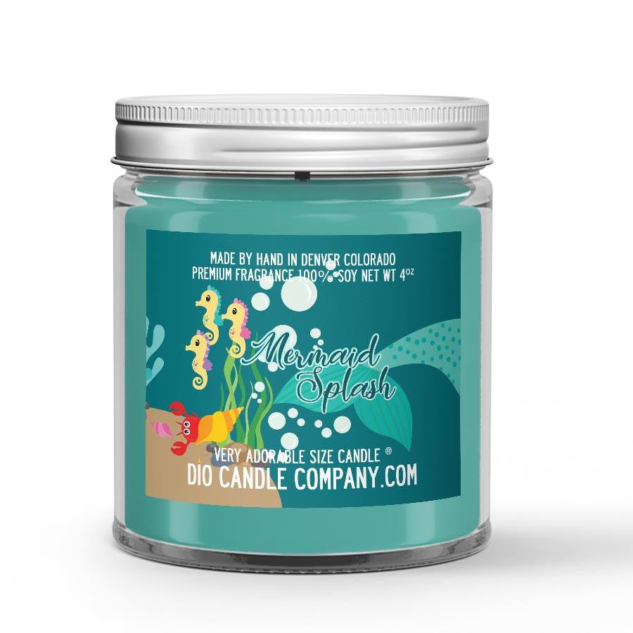 Mermaid's Splash Candle Caribbean Fruit - Sea Water Scented - Dio Candle Company