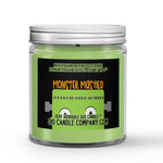 Halloween Monster Mashed Candle Apricot - Blackberries - Cinnamon - Musk Scented - Dio Candle Company