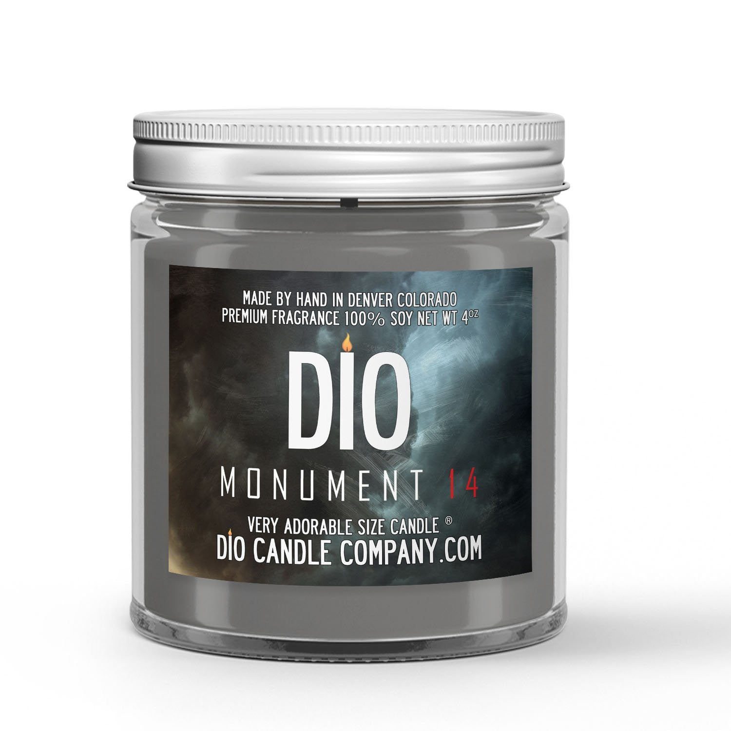 Monument 14 Candle - Burnt Twinkies - Coffee - Fire - 4oz Very Adorable Size Candle® - Dio Candle Company