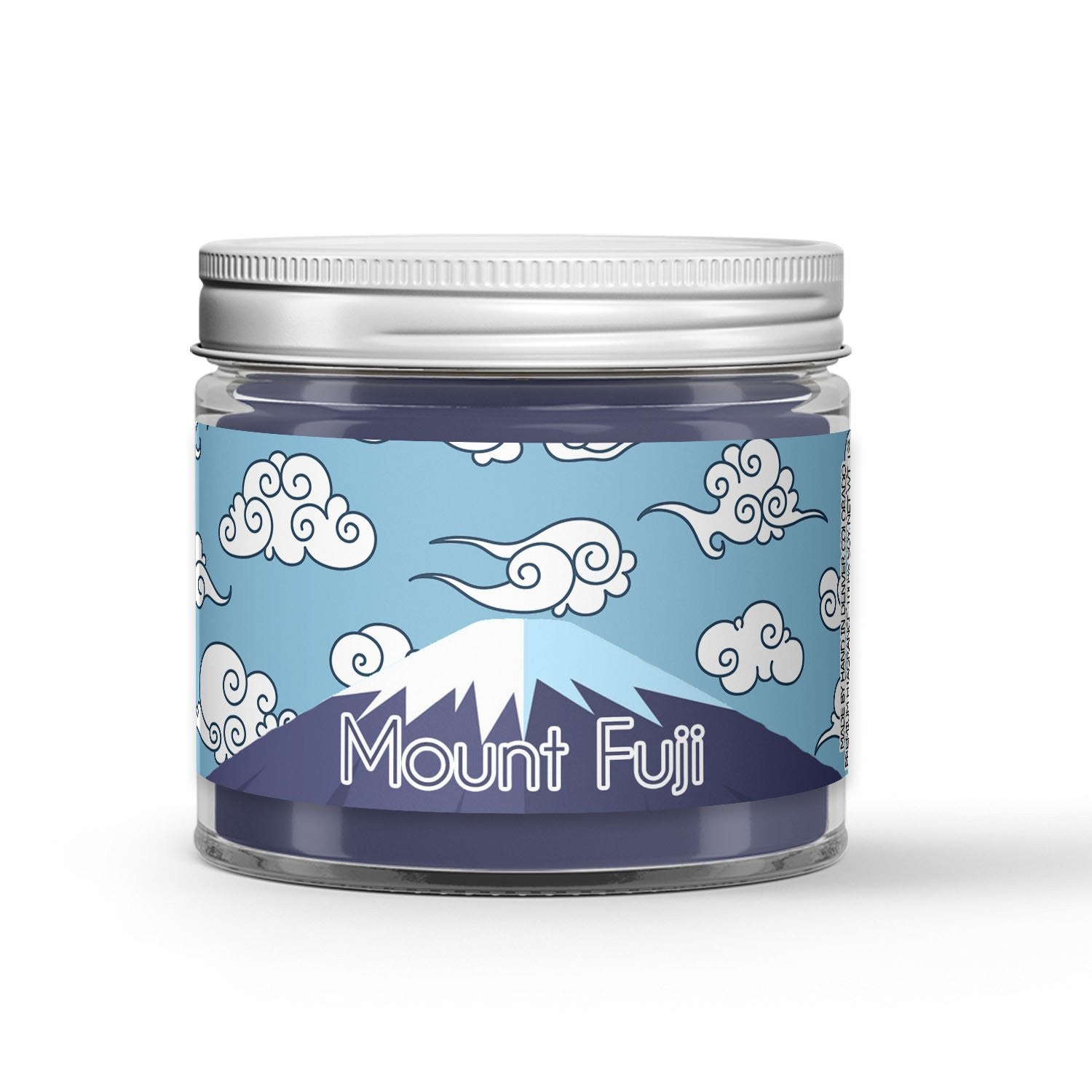 Mount Fuji Candle - Cypress - Snow - 1oz Adorable Size Candle® - Dio Candle Company