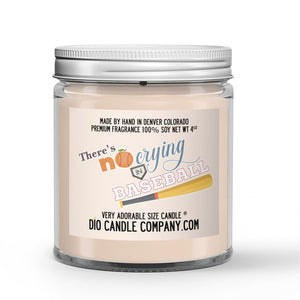Crying in Baseball Candle - Peaches - Dirt -4oz Very Adorable Size Candle®
