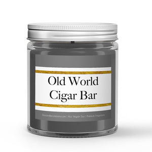 Old World Cigar Bar Candles and Wax Melts