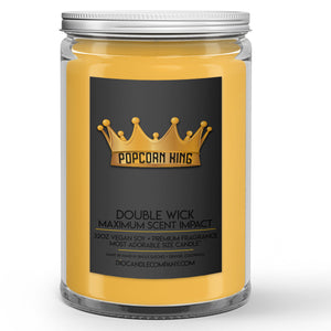 Popcorn King Candles and Wax Melts