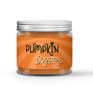 Pumpkin Dreams Candle - Spiced Pumpkin Waffles - Syrup - Pecans - 1oz Adorable Size Candle® - Dio Candle Company