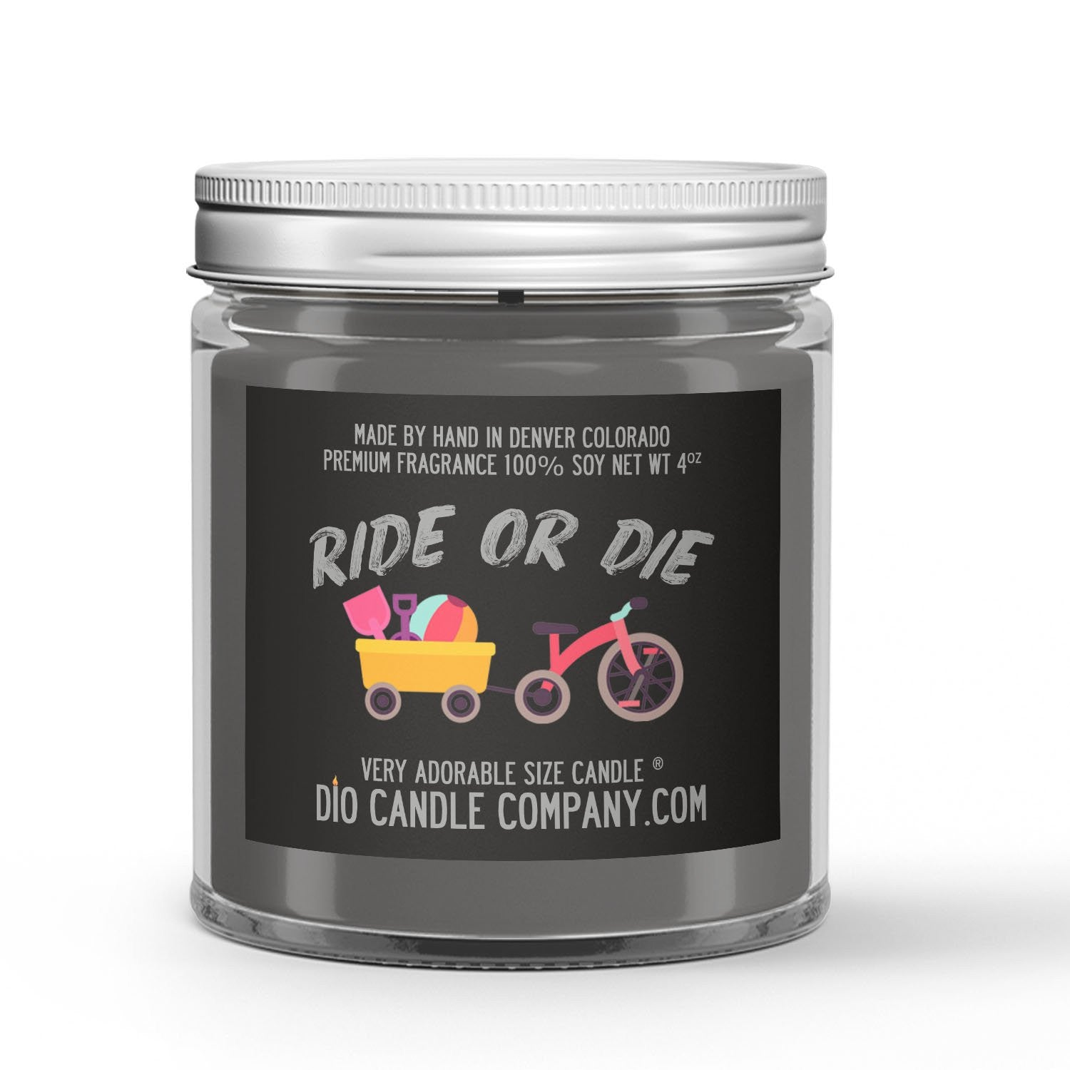 Ride or Die Candle Tree Car Freshener Scented - Dio Candle Company
