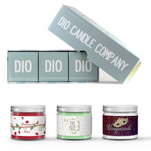 Ashley Townsend Book Candle Gift Set Gift Box Set Scented - Dio Candle Company