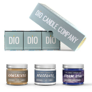 Berserker Series Candle Gift Set - Gift Box Set - [variant_title] - Dio Candle Company