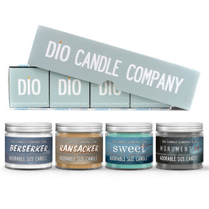Gift Box Set Scented - Emmy Laybourne Author's Flight Candle Gift Set - [variant_title] - Dio Candle Company