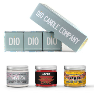 Tour Japan Adorable Candle Gift Set Gift Box Set Scented - Dio Candle Company