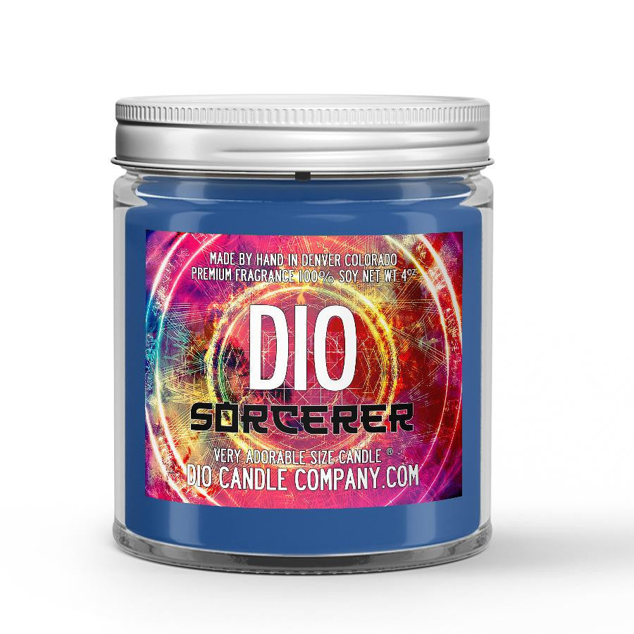 Sorcerer Candle Sandalwood - Amber - Coriander Scented - Dio Candle Company