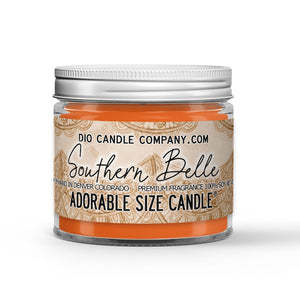 Southern Belle Candle - Georgia Peaches - 1oz Adorable Size Candle® - Dio Candle Company