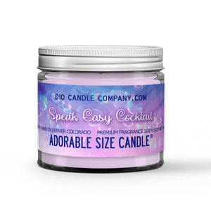 Speak Easy Cocktails Candle - Watermelon Schnapps - Lime Garnish - 1oz Adorable Size Candle® - Dio Candle Company