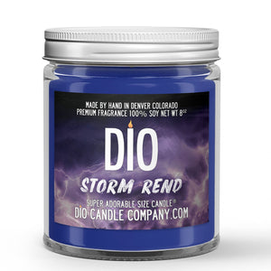 Storm Rend Candle - Storm - Mahogany - Sea Salt - 8oz Super Adorable Size Candle® - Dio Candle Company