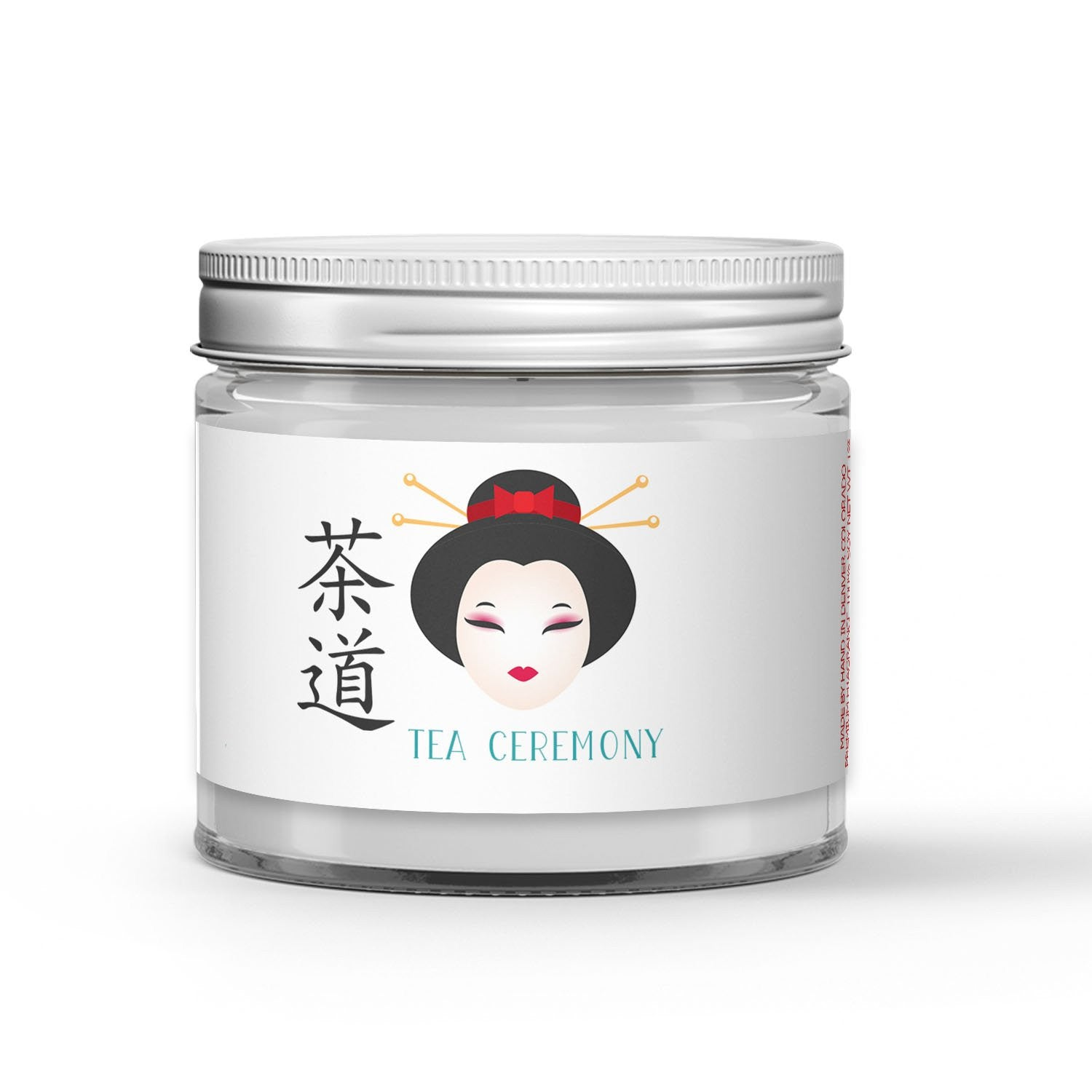 Tea Ceremony Candle - Matcha Green Tea - White Musk - 1oz Adorable Size Candle® - Dio Candle Company