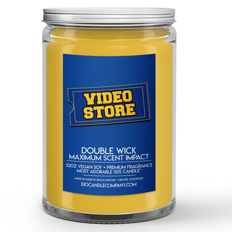 Video Store Candles and Wax Melts