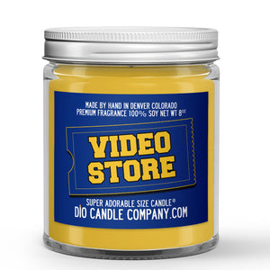 Video Store Candle Popcorn - Carpet - VHS Scented - Dio Candle Company