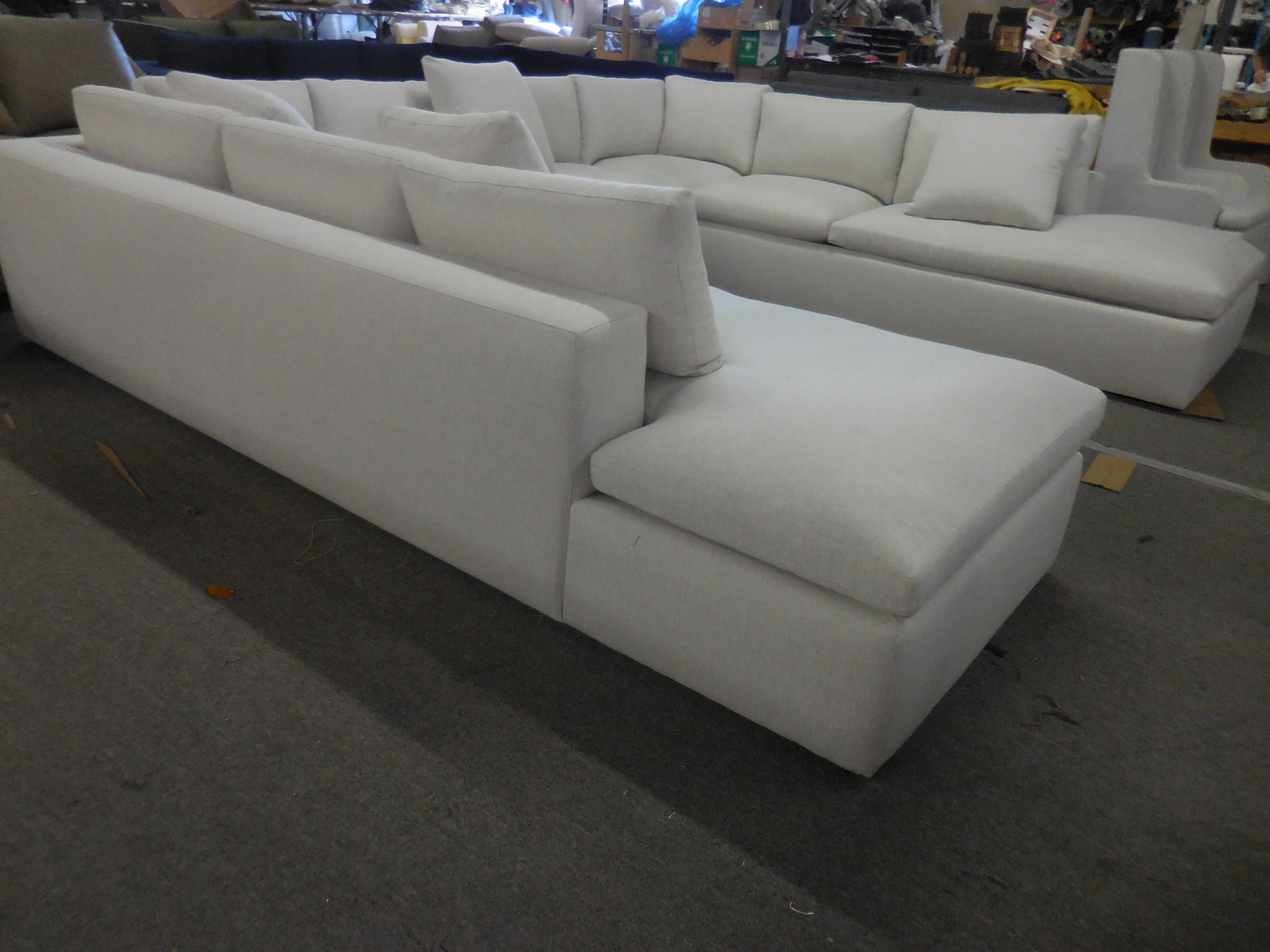 Claudia U shaped sectional.