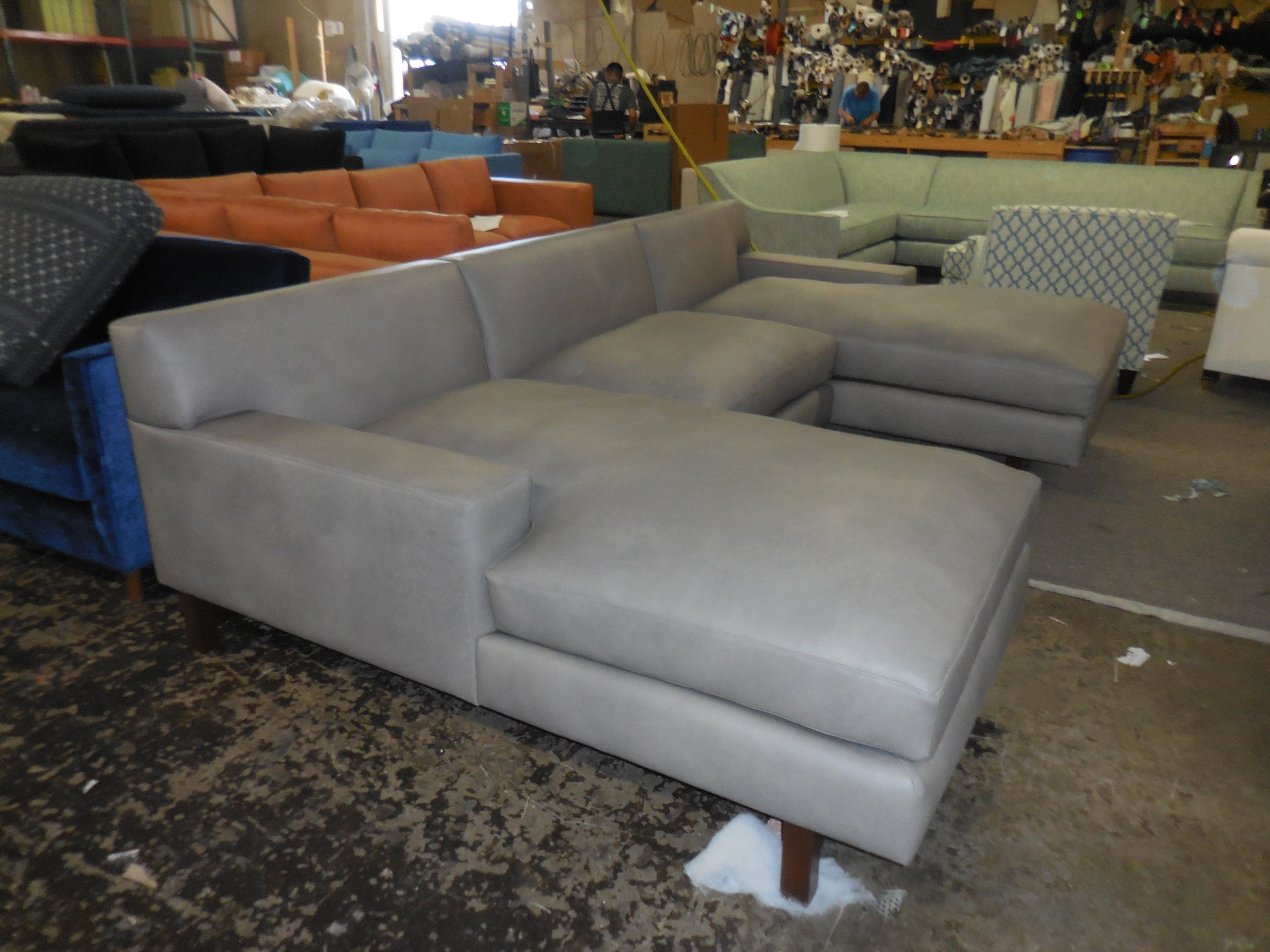 Hugo double chaise sectional.