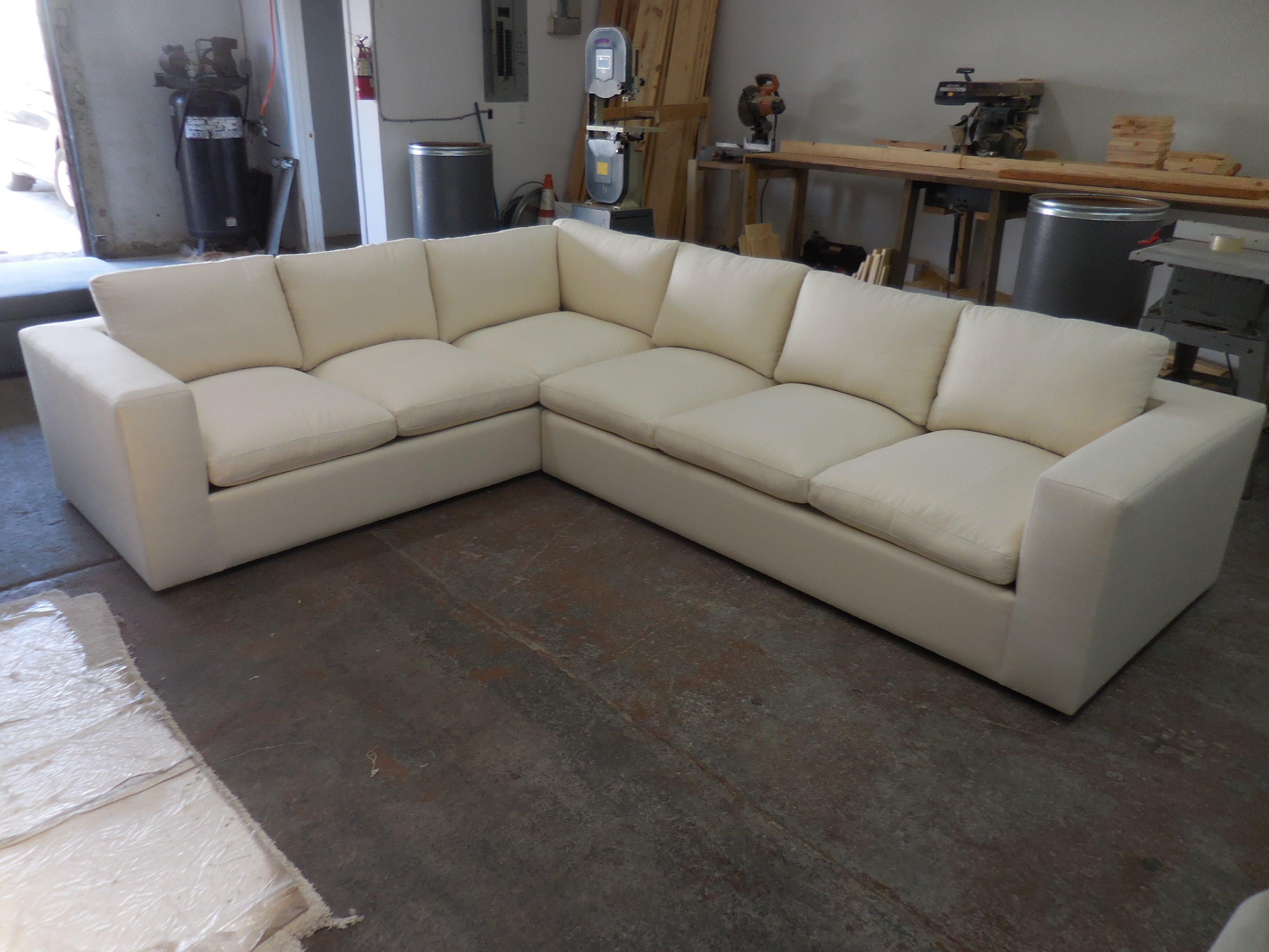 Claudia L-shaped sectional