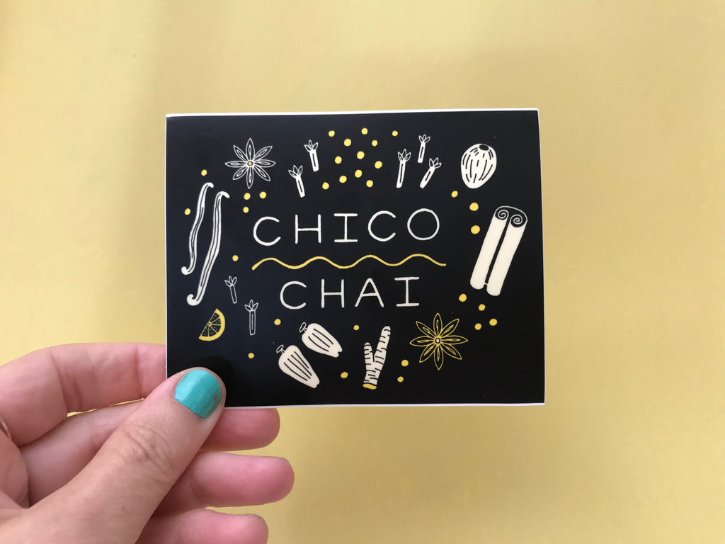 Chico Chai Sticker