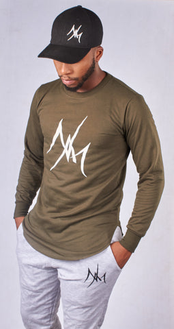 Olive Long Sleeve T-Shirt