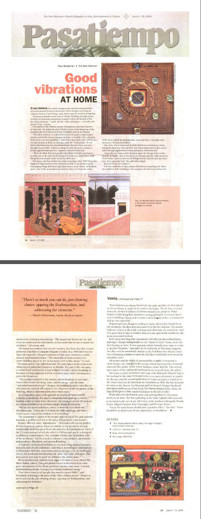 vastu article sherri silverman press pasatiempo santa fe