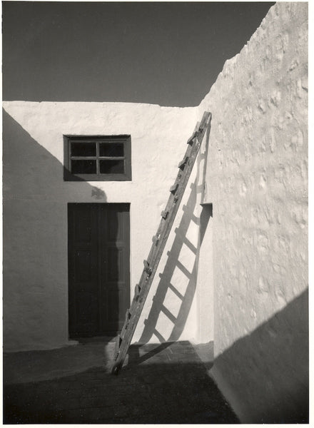 st john the divine patmos ladder to the sky black and white photography gelatin silver print book of revelations monastery