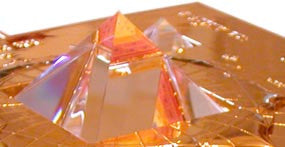 Replacement Glass Pyramid: Large