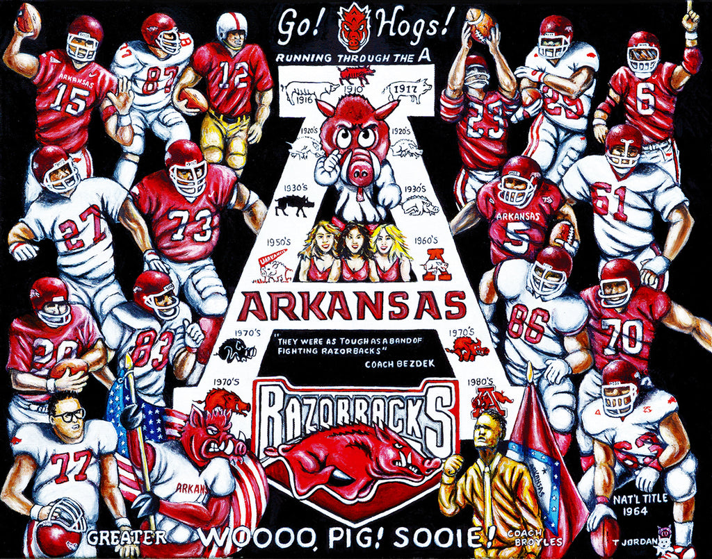Arkansas Tribute -- by Thomas Jordan Gallery