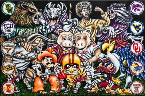 Big 12 Showdown -- by Thomas Jordan Gallery