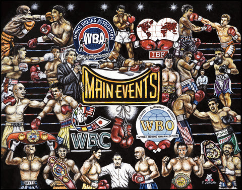 Main Events Boxing Tribute -- by Thomas Jordan Gallery