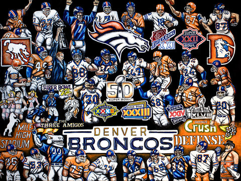 Broncos Tribute -- by Thomas Jordan Gallery