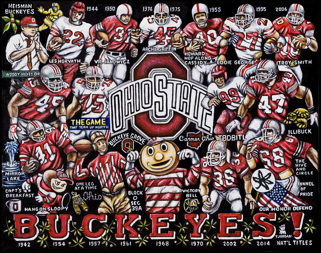 Ohio State Buckeyes Tribute -- by Thomas Jordan Gallery