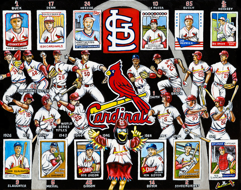 St. Louis Cardinals Tribute -- by Thomas Jordan Gallery