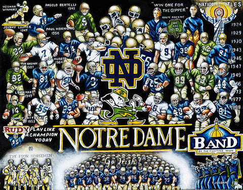 Notre Dame Tribute -- by Thomas Jordan Gallery