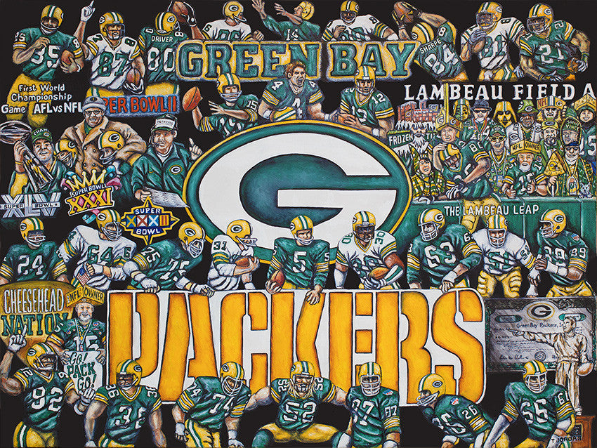 Packers Tribute -- by Thomas Jordan Gallery