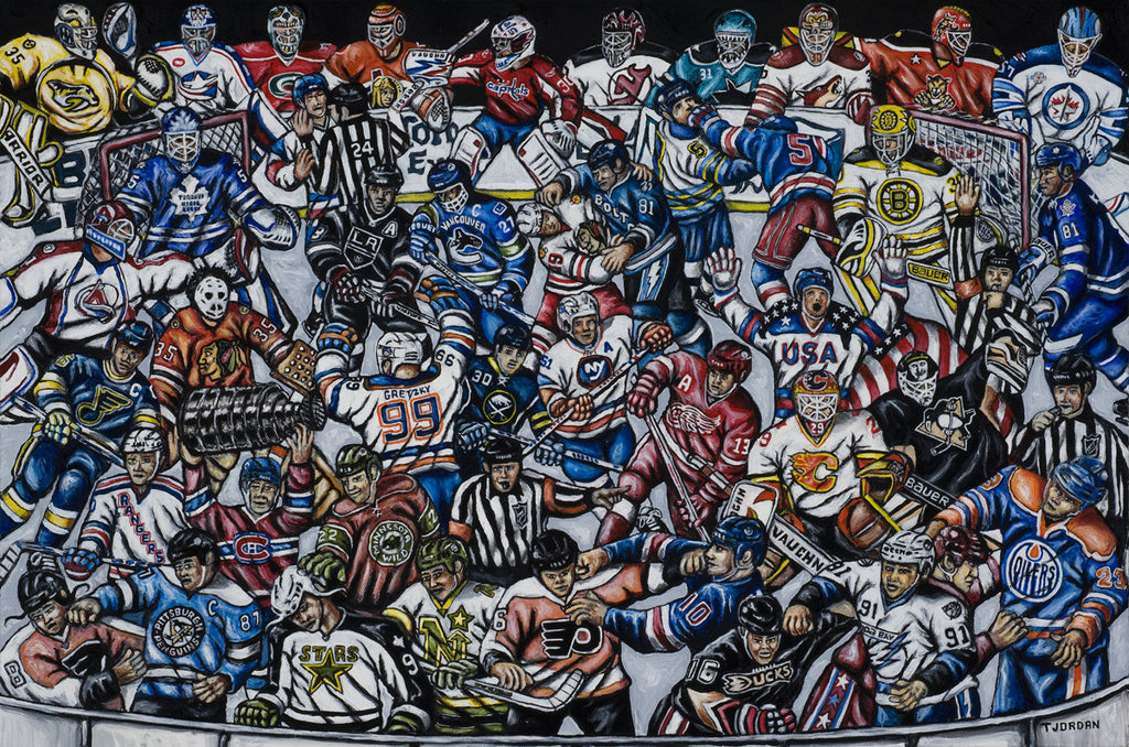 The Puck Stops Here -- by Thomas Jordan Gallery
