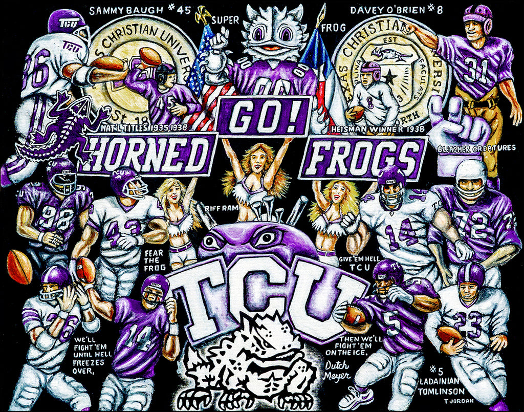 TCU Tribute -- by Thomas Jordan Gallery