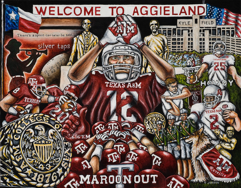 Welcome to Aggieland -- by Thomas Jordan Gallery