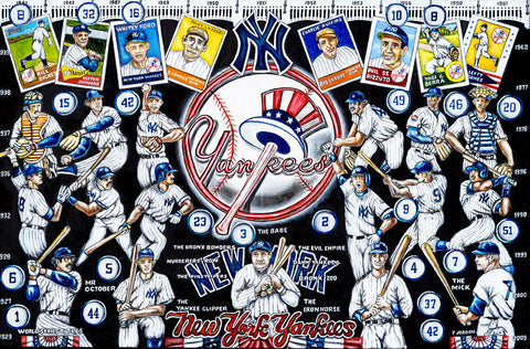 New York Yankees Tribute -- by Thomas Jordan Gallery