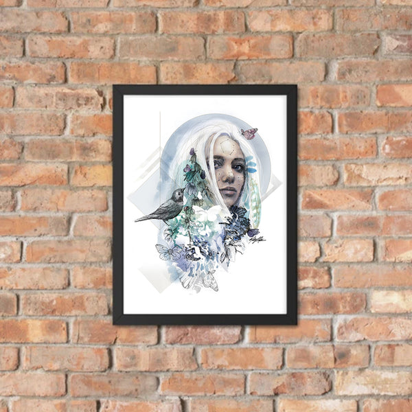 Mother Earth Framed Poster